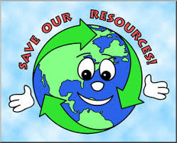 Conserving resources helps the whole planet