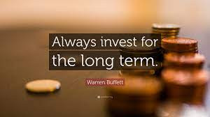 Investing Long Term Is a Good Idea