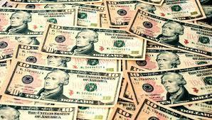 10 dollar notes, 10 dollar bills