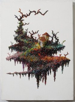 「Seed Forest 「hut」'15(333mm×242mm)