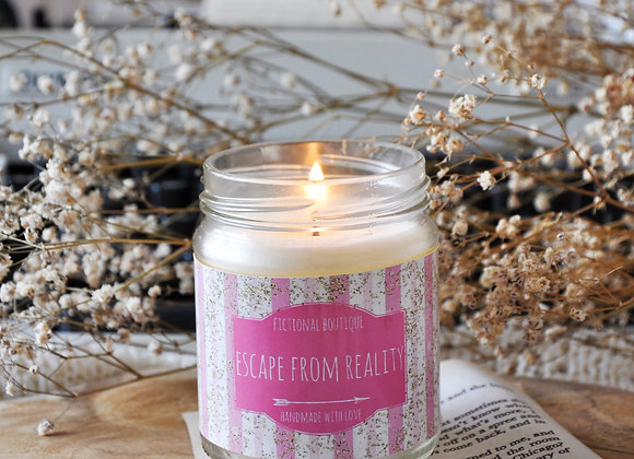 Escape From Reality Bookish Candle