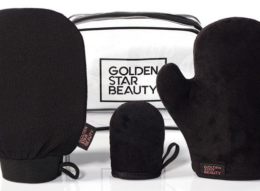 SELF-TANNING MITT KIT BY GOLDEN STAR BEAUTY