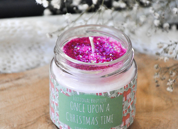 Once Upon A Christmas Time Candle