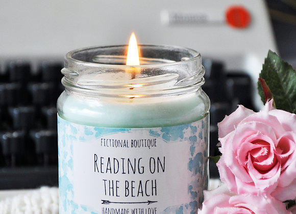 Reading On The Beach Bookish Candle