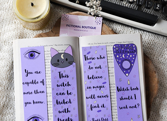 Witch Laminated Bookmarks