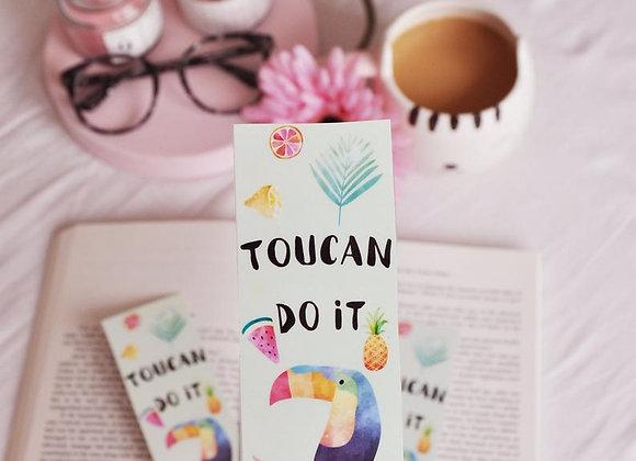 Toucan Do It Laminated Bookmark