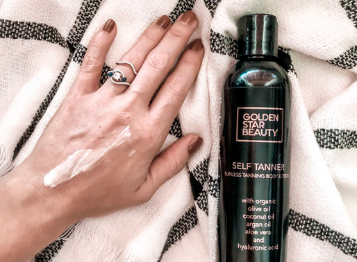Golden Star Beauty Review – Cruelty Free and Vegan Self Tanner! | by: Guitar and Lace Blog
