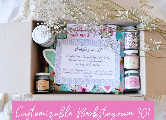 Customizable Bookstagram 101 Bookish Box