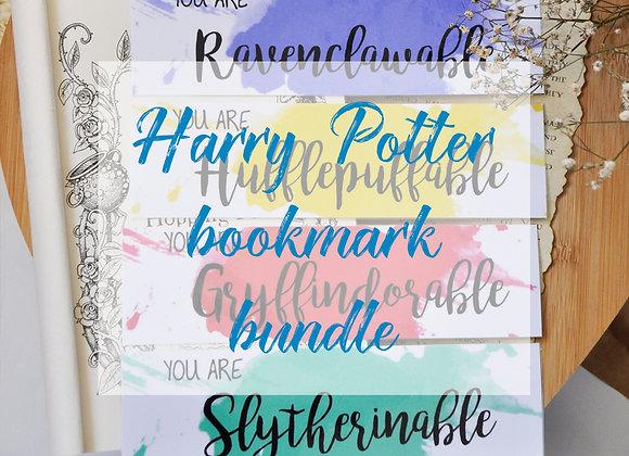 HP Houses Bookmark Bundle