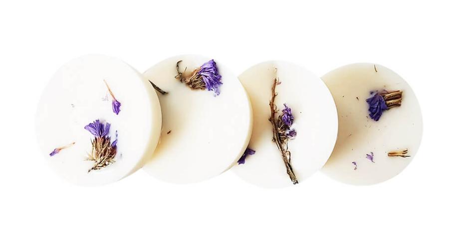 Pastilles parfumées bio Géranium & Lavandin x 4