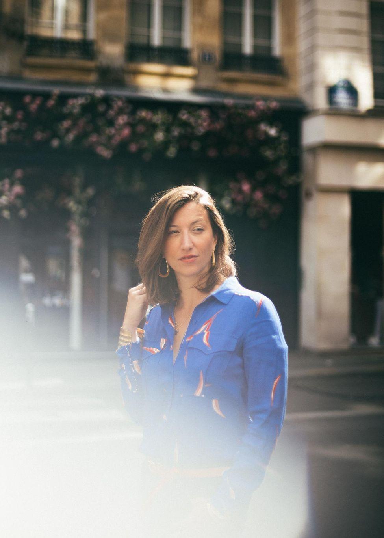 Portrait de Marie Robert par Nathalie Rouiller, photo Boby