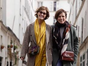Christine Lombard & Lucille Renié, 60 ans de passion mode à elles 2 et auteures de CHIC, le guide