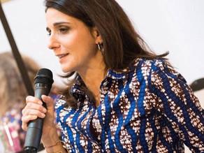 Anne-Cécile Sarfati, rédactrice en chef à ELLE, directrice de la  diversification éditoriale