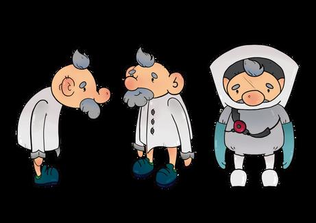 Super Martín contra el Coronavirus - Diseño del doctor Marcelo