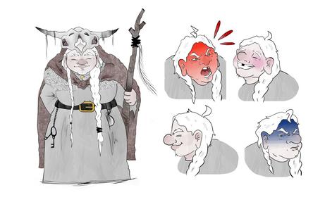 La loba- Diseño de personaje