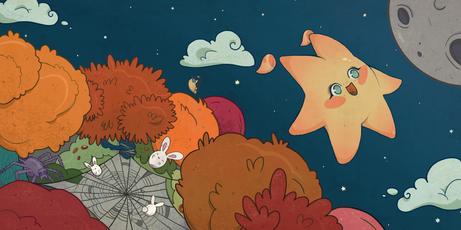 La estrella caída - La telaraña
