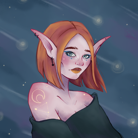 Draw this in yor style - SaelKay