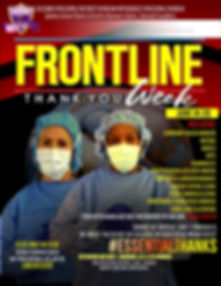 COVID-19 FRONTLINE THANKS TO ESSENTIAL W