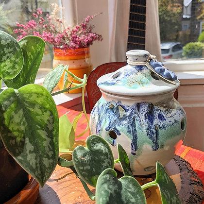 Beautiful Earthy Handmade Drip Pot
