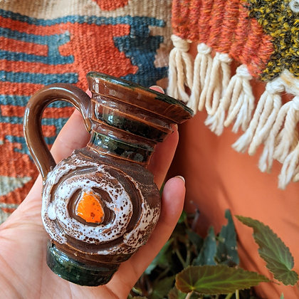 Beautiful Lil Handmade Ceramic Jug