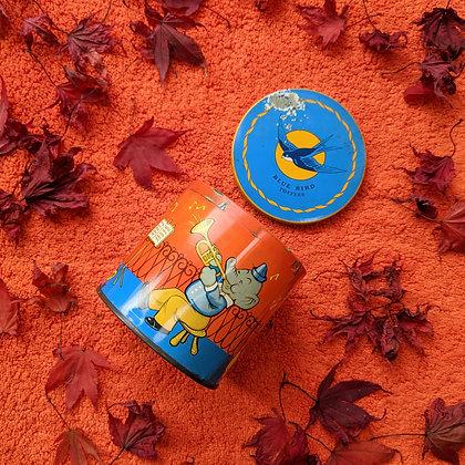 Collectors True Vintage Blue Bird Toffees Tin