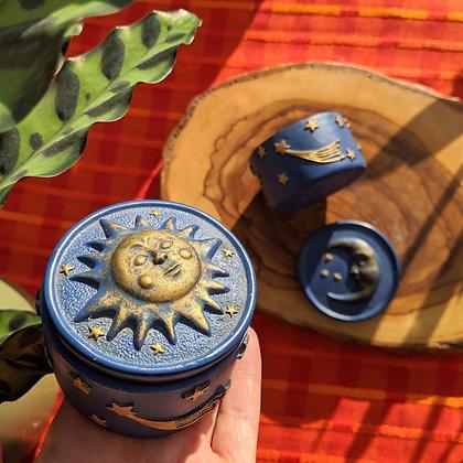 Beautiful Celestial Vintage Pots