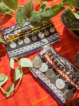 Afghan Kuchi Vintage Coin Purses - Options Available