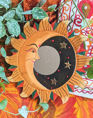 Large Sun & Moon Mirror