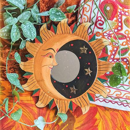 Large Sun & Moon Mirror