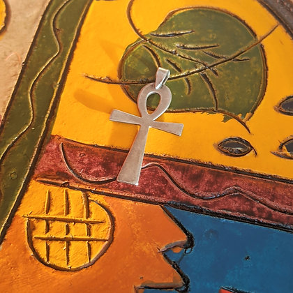 Egyptian Ankh CrossPendant | Sterling Silver
