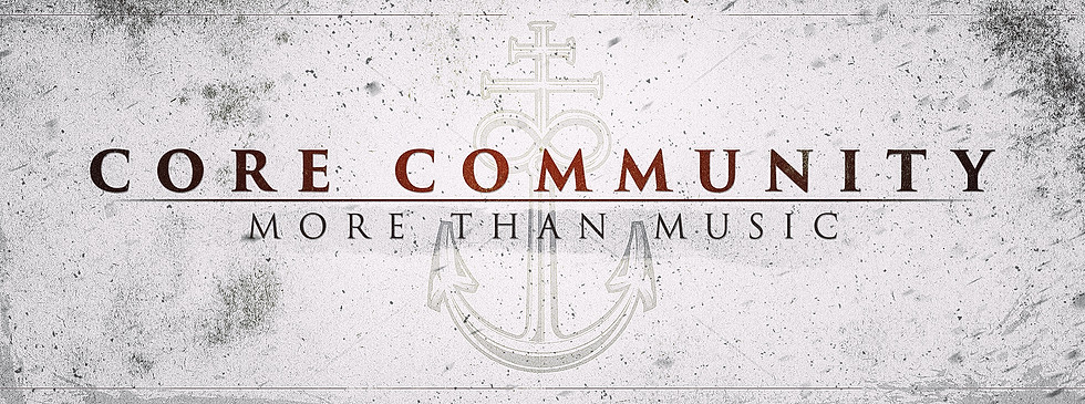 "FACEBOOK HEADER FOR ""CORE COMMUNITY"""