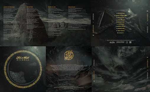 """SOME SIDES OF THE JEWEL CASE FOR """"FAR'N'HATE"""""""