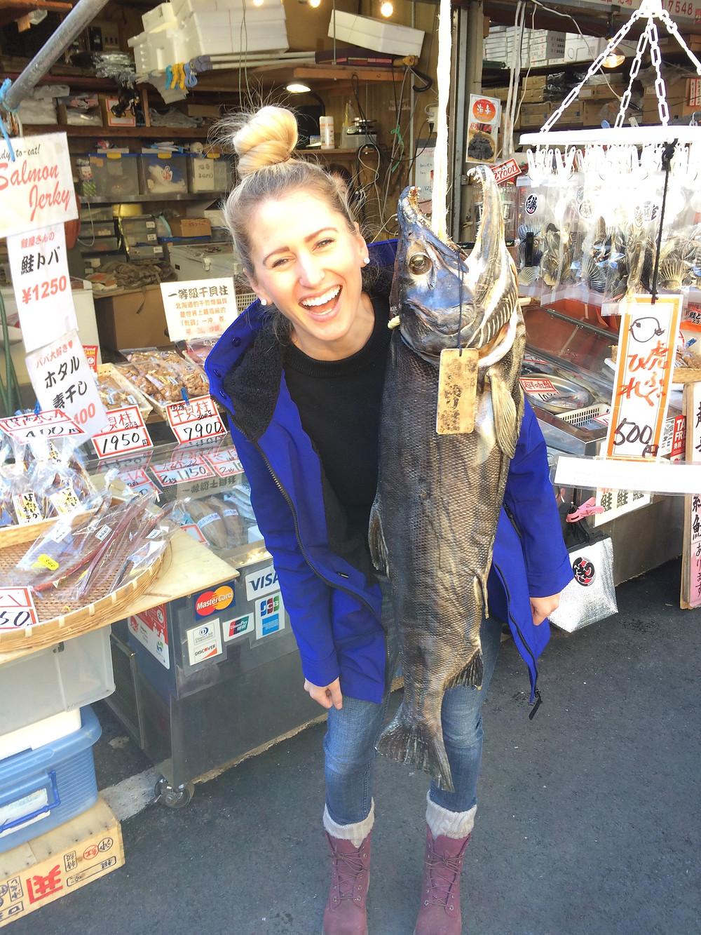tsukiji fish market, explore tokyo,
