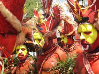 Mt. Hagen cultural show: A feast of colour