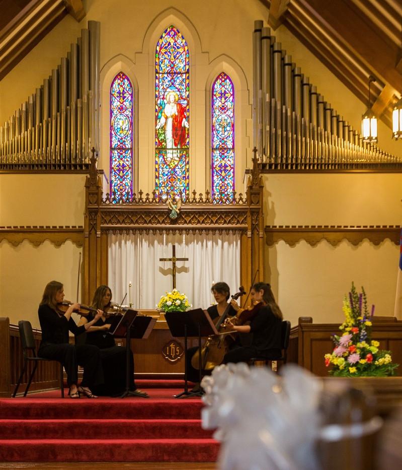 Quartet in church.jpeg