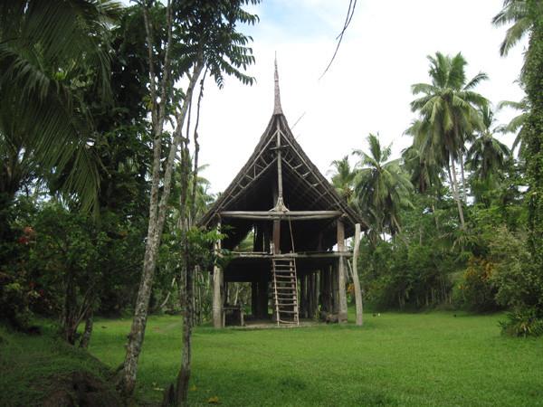 Kanganman Spirit House on the Sepik River