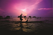 SH  4     066-PNG - Sepik River Sunset.j