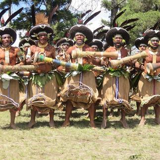 017-Mt Hagen Cultural Show - Enga Tribes