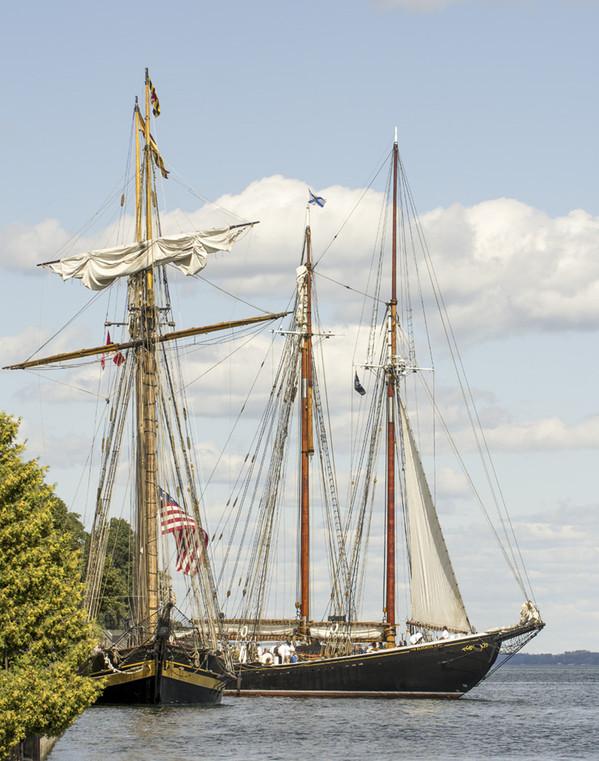 Pride of Baltimore & Bluenose II 7184