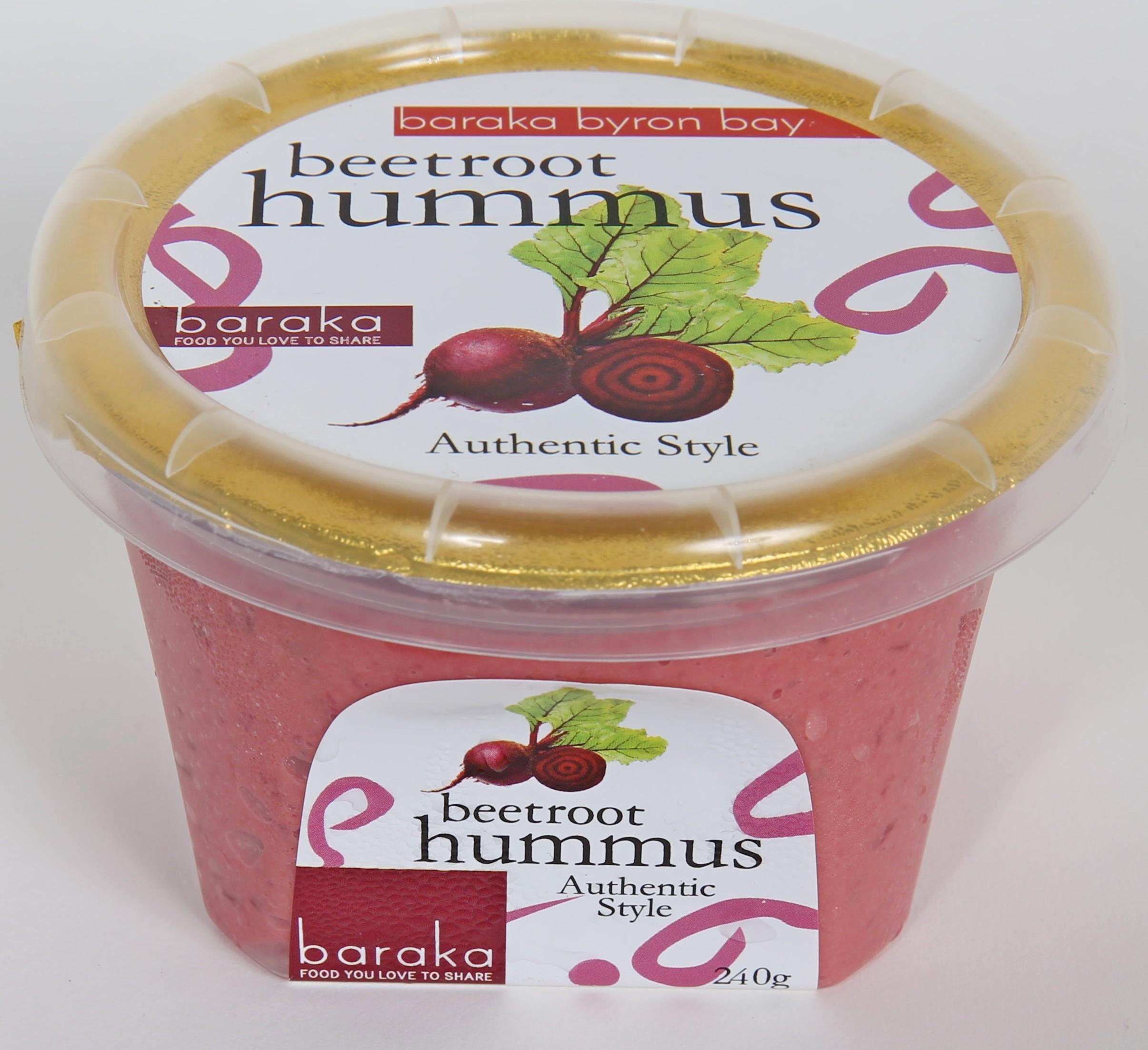 Baraka Beetroot hummus 240g