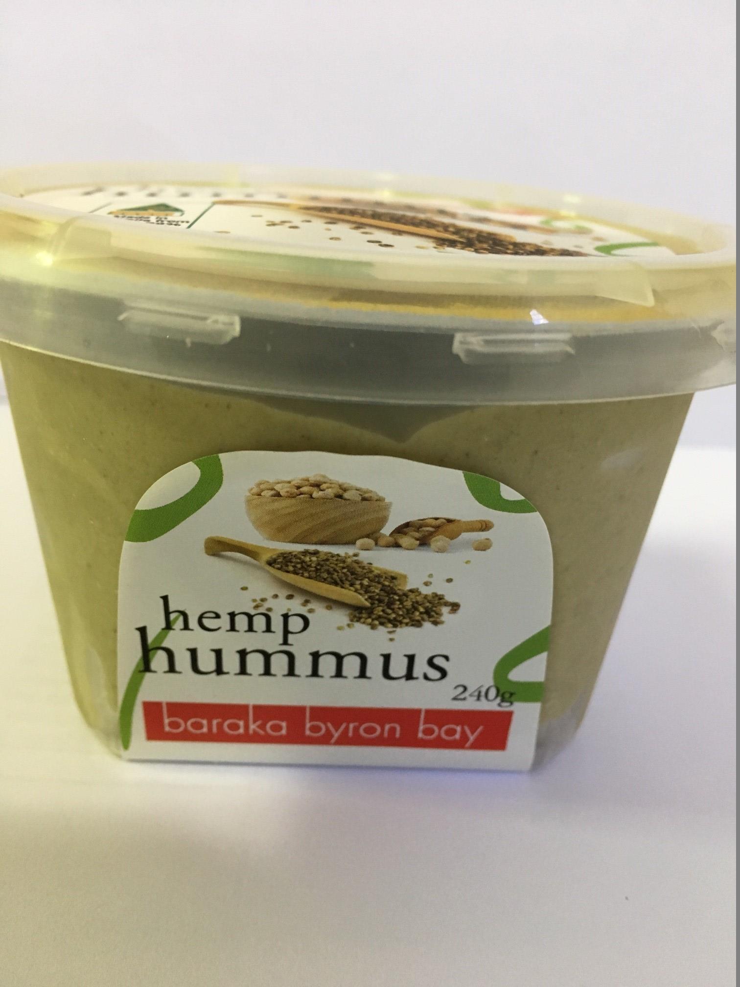 Baraka Hemp hummus 240g