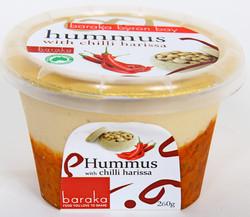 Baraka hummus chilli harissa 240g
