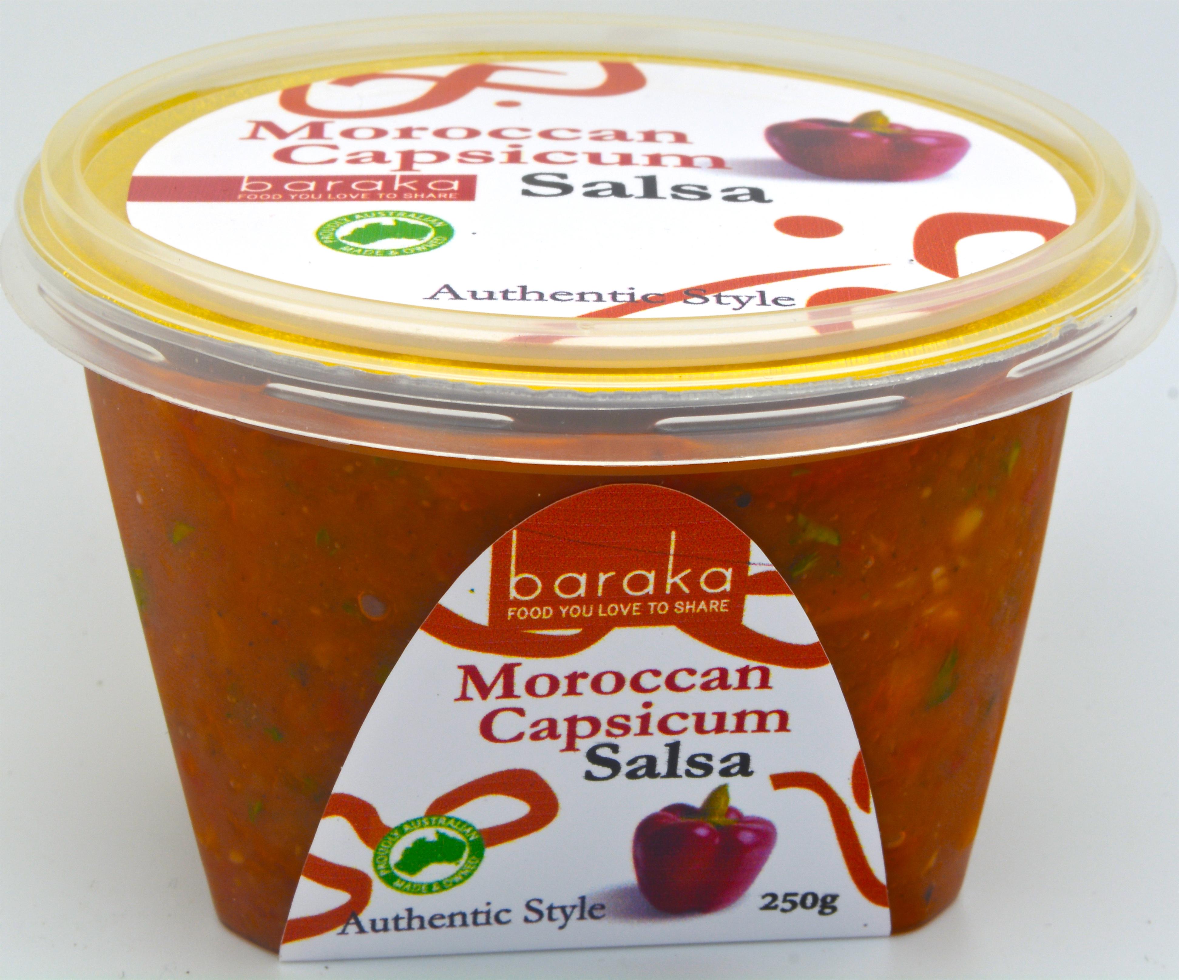 Moroccan Capsicum Salsa