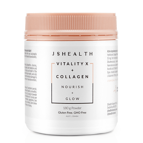Vitality X + Collagen - Glow Powder