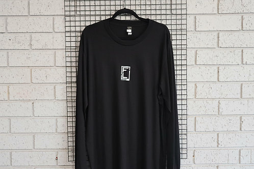 MENS LS BLACK FL