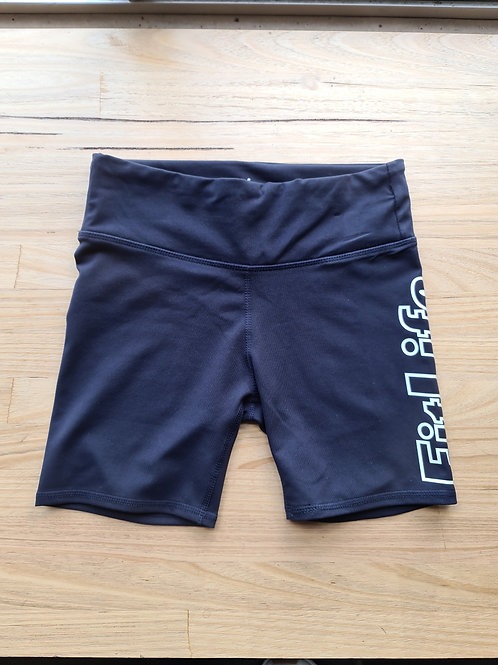 Navy ( C.O.B ) FITLIFE booty shorts