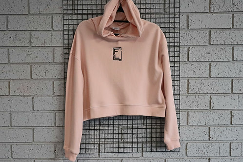 CROPPED PINK HOOD FITLIFE