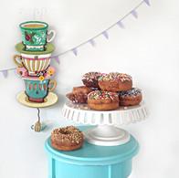 Teacups clock