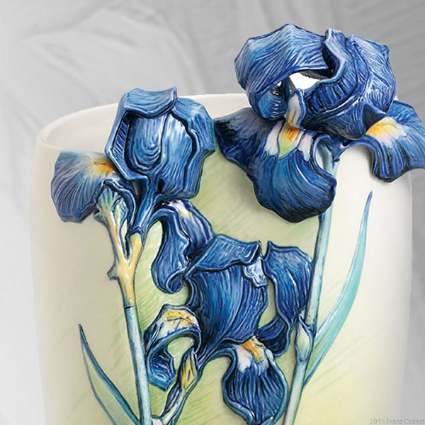 Franz Porcelain Van Gogh Iris