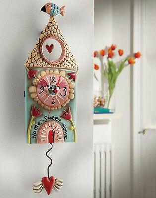 Hoem Sweet Home Clock